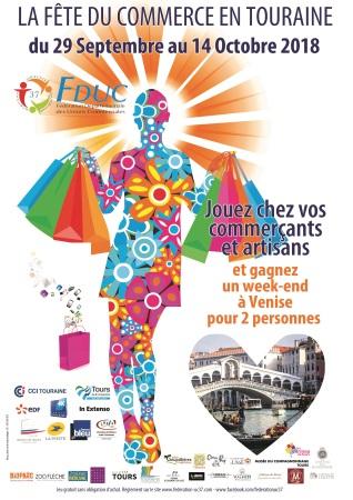 Fête du commerce en Touraine 2018