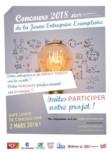 Concours 2018 de la jeune entreprise exemplaire - JCE Tours