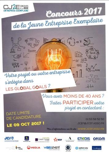 Concours de la Jeune Entreprise Exemplaire CJ2E