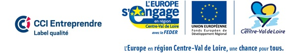 Bannière labellisation Pôle Entreprendre CCI Touraine