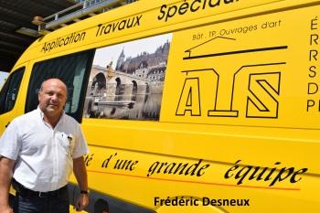 Frédéric Desneux, fondateur et dirigeant d'ATS