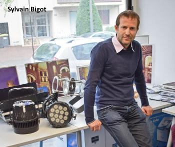 Sylvain Bigot a créé Neo Light en 2005