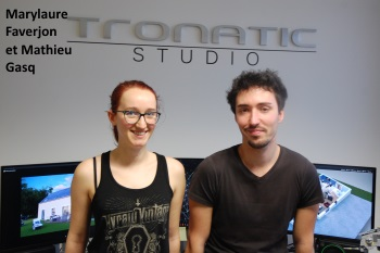 Marylaure Faverjon et Mathieu Gasq, Tronatic Studio