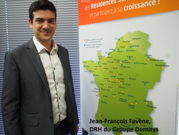 Jean-François Favène, DRH du Groupe Domytis