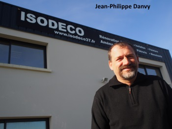 Jean-Philippe Danvy, dirigeant d'Isodeco