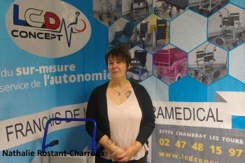 Nathalie Rostant-Charroux, gérante de LCD Concept