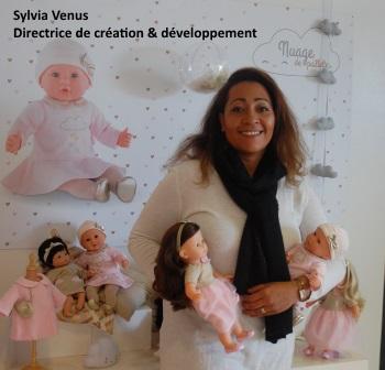 Corolle - Sylvia Venus, directrice de création et développement