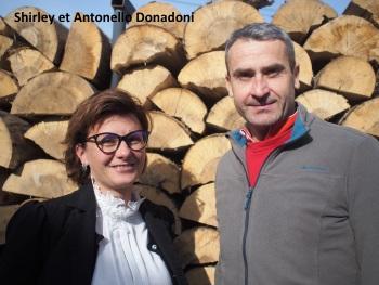 Shirley et Antonello Donadoni