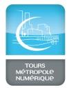 Logo Tours Métropole Numérique
